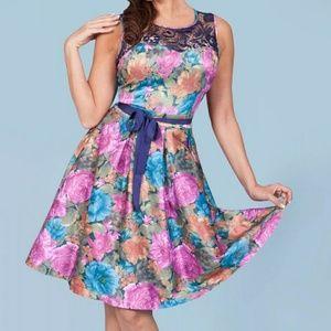 Tatyana Mirabelle Purple dress